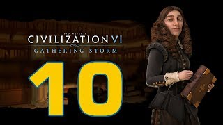 Прохождение Civilization 6: Gathering Storm #10 - Культурное и военное усиление [Швеция - Божество]