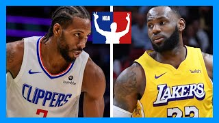 NBA 2K20 Los Angeles Lakers vs Los Angeles Clippers FULL GAME!