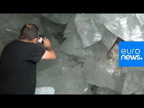 Euronews:Watch: Europe's biggest crystal cave to open to public