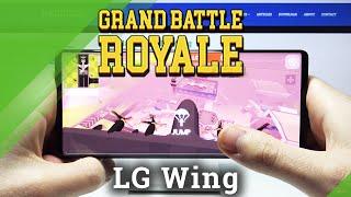 Grand Battle Royale en LG WING - Prueba de juegos