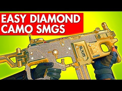 HOW TO GET EASY DIAMOND CAMO SMGS in BLACK OPS 4