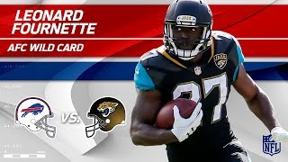 Leonard Fournette NFL Playoffs Debut Highlights! | Bills vs. Jaguars | Wild Card Player HLs