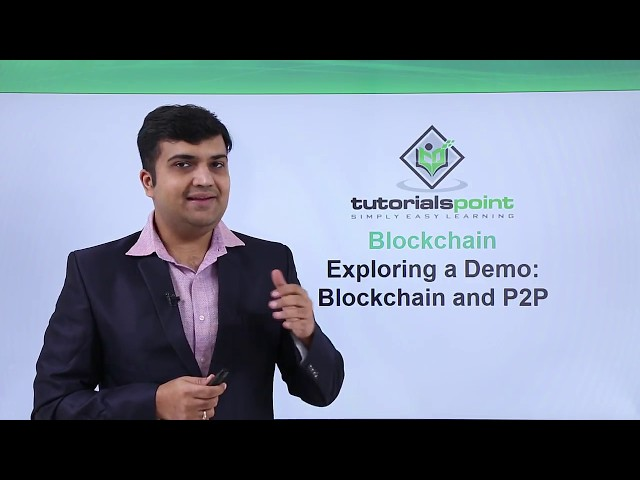 Blockchain - Exploring a demo blockchain and P2P