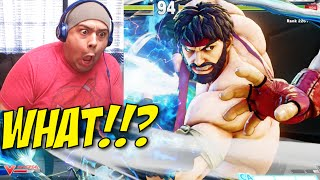 I GOT MY ASS WHOOPED ONLINE YALL!! [STREET FIGHTER V] [ONLINE]