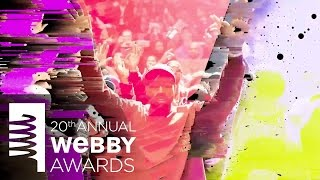 Kanye West's 5-Word Speech at the 20th Annual Webby Awards