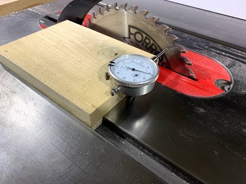 Ultimate Table Saw Blade & Fence Alignment Jig How-To for $13