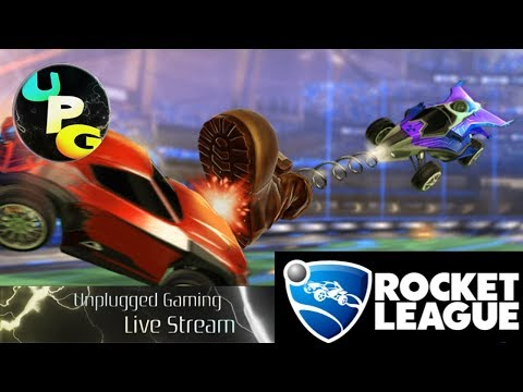 Rocket League - Burning Through The Sky - UnPlugged Gaming (PC)