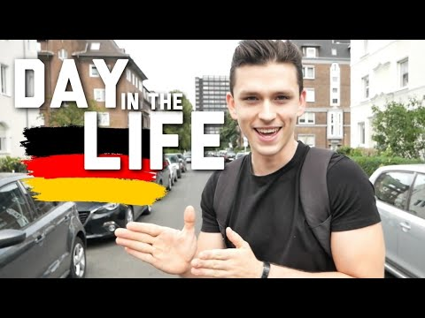 24 hours in Düsseldorf - Day in the Life in Germany