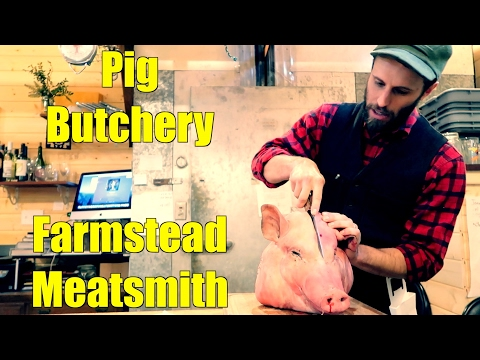 Pig Butchery - The Farmstead Meatsmith Complete Harvest Course - Day 2