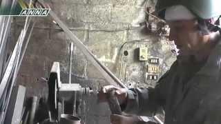 Сирия. Дарйя. Мастерская по производству оружия. 20121225