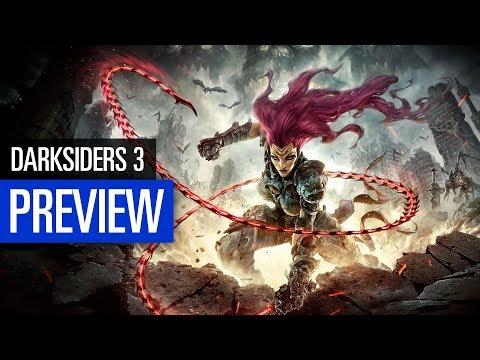 Darksiders 3 PREVIEW   Auf den Spuren von Reiterin Fury