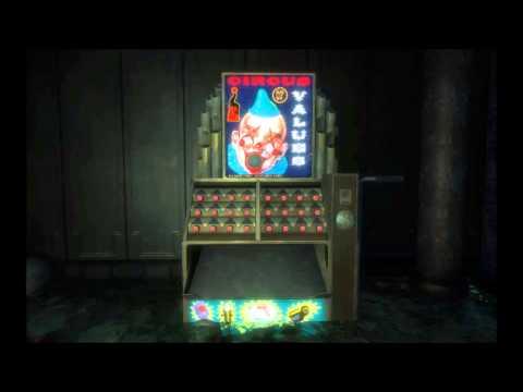 Bioshock  Circus of Values Vending Machine Sounds
