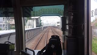 [鉄道前望] 東急東横線、菊名〜武蔵小杉 (特急、東京メトロ10000系)