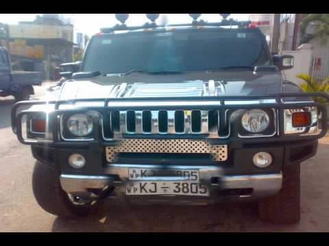 Big Car Hummer In Sri Lanka