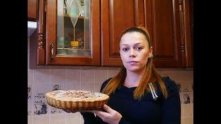 РЕЦЕПТ пирога с КАРАМЕЛИЗИРОВАННЫМИ грушами ПИРОГ простой рецепт выпечка рецепты Готовим с ЛЮБОВЬЮ