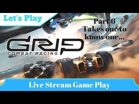 Takes one to know one - GRIP: Combat Racing |