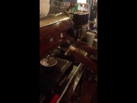 Arte Latte En Rococó Café Espresso