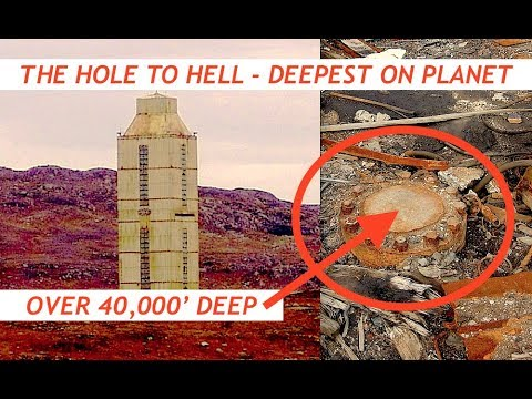 """Portal to Hell - Sounds of Hell Recorded """"Eat Them"""" Inside Deepest Hole in World at 40,000'"""