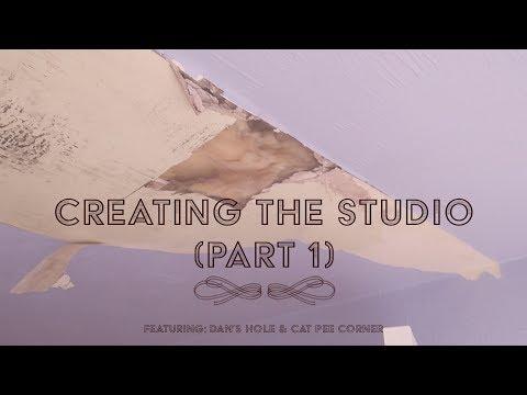 Creating The Music & Recording Studio | HOME RENOVATION PROJECT &  DIY | Home Studio (Part 1)
