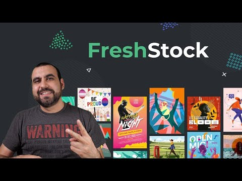 FreshStock assets and templates library Lifetime Deal