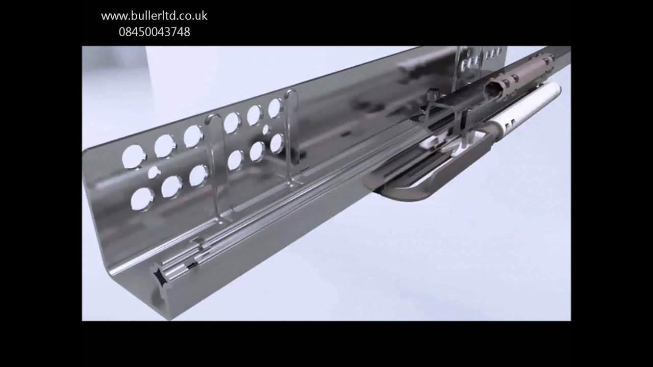 Quadro V6 With Push To Open Drawer Runners For Wooden