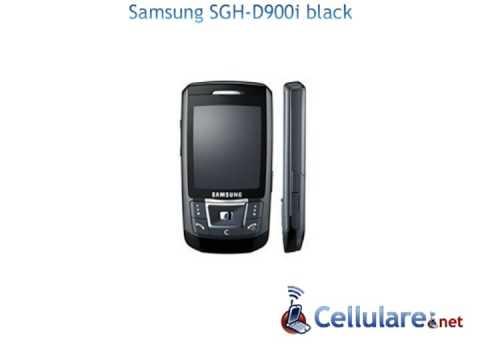 Samsung SGH-D900i black