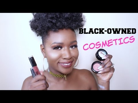 3 AMAZING Black Owned Cosmetics Companies You Should Try| Liquid Lipsticks, Highlighters, Skincare