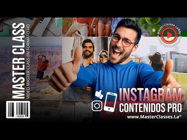 Instagram Contenidos Pro - Aprende a generar altos ingresos con publicaciones que comuniquen valor.