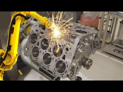 GERMAN CNC Technology - VOLKSWAGEN Super Car Engine Body CNC Lathe