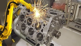 Download GERMAN CNC Technology - VOLKSWAGEN Super Car Engine Body CNC Lathe Mp3 and Videos
