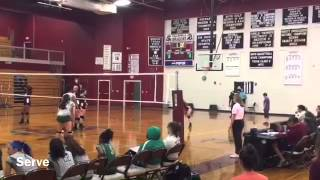 Gabby Harris Class of 2018 MB/RS Collierville High School Varsity Volleyball