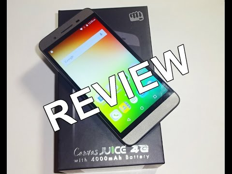Micromax Canvas Juice 4G Review