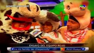 COMBATE: Desafio Musical del Pollito Pio (Verde) y el Ranchito (Rojo) COMPLETO 08/05/13