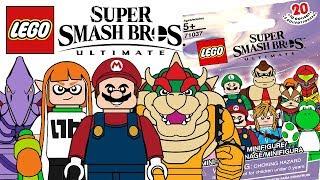 LEGO Super Smash Bros. Minifigures - CMF Draft!