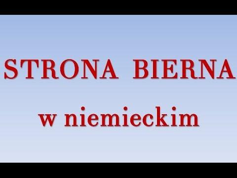 Strona bierna - niemiecki