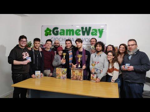Premiazione Coppa GameWay MultiGioco 2019