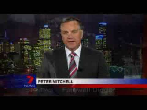 09 07 31 HSV 7 News Andrew McIntosh on 100 fewer police in Melb CBD