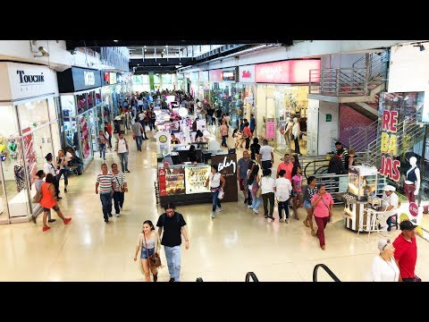Awesome Shopping Mall in Sabaneta - Medellin Colombia - Copyright Free