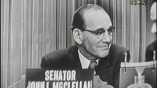 What's My Line? - Senator John McClellan; Louis Jourdan [panel] (Feb 13, 1955)