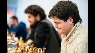 GM David Navara - GM Jurij Vovk 1:0, SVK Extraliga 2018 |Bratislavská šachová akadémia|