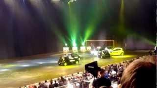 Top Gear Live Moscow: Как играть в футбол машинами