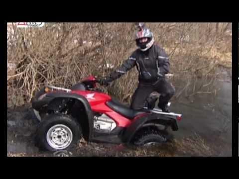 Квадроцикл Honda TRX 680 / Тест-драйв