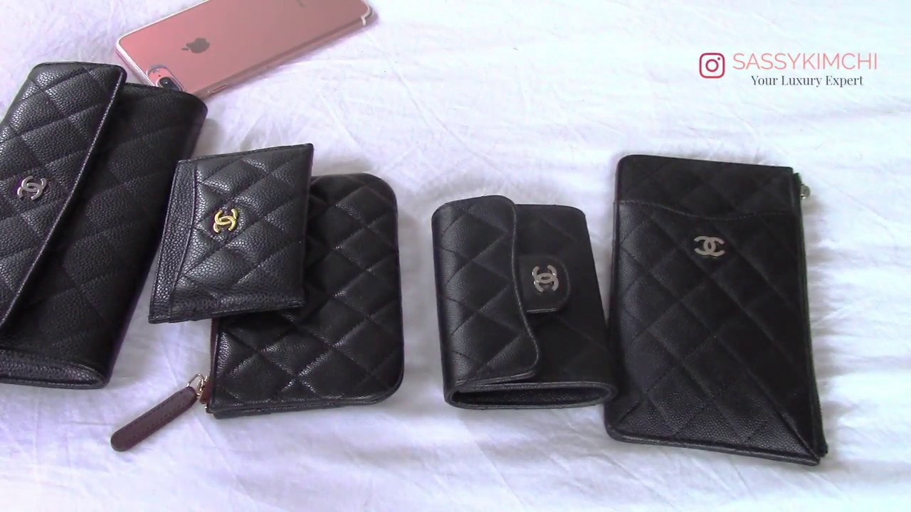 c2d0c2cc8abebf SASSYKIMCHI REVIEWS : CHANEL SMALL LEATHER GOODS - YouTube