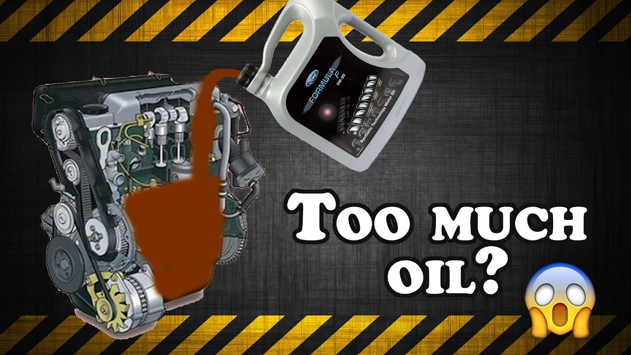 Too Much Oil In Your Engine - Youtube-1917