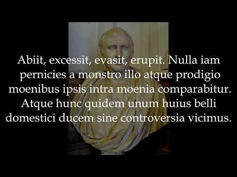 Cicero - In Catilinam II