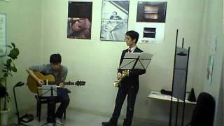 2011.11.6 第二回わたじん楽器ミニライブ 1on3