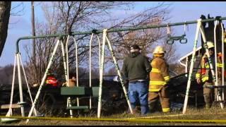 Fire kills 5 in Seneca County, 3 children