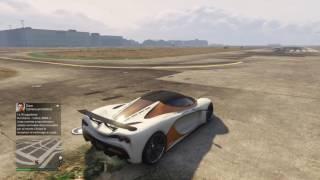 Test De Velocidad | Zentorno Vs Turismo R  | GTA V Online