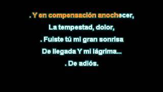 Roberto Carlos Tu en mi vida Karaoke)DEMO 2