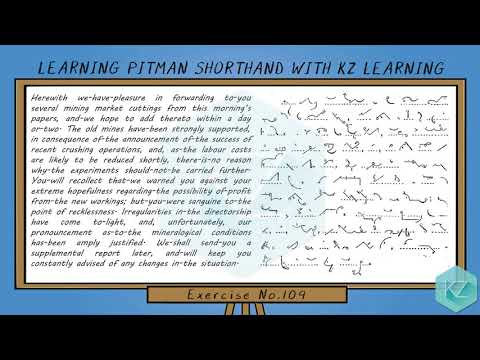 pitman-shorthand---exercise-no.109-dictation-(70-wpm)---kz-learning